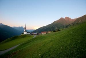 Kirche Tenna - © Marcus Gyger