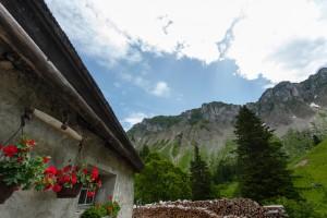 Alpage du Col de Chaude - © Parc naturel régional Gruyère Pays-d'Enhaut