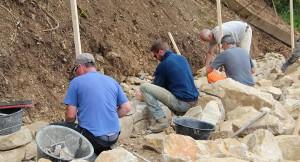 Stein um Stein: Trockenmauer