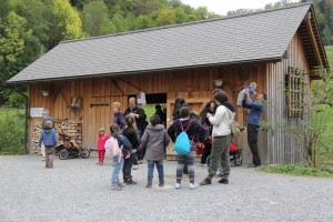 Erlebniswelt Fuchsscheune - © Wildnispark Zürich