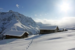 Schneeschuh-Weekend Safiental - © David Coulin