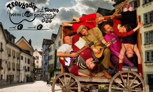Troubadix auf Touren – wenn Lieder einfahren - © Troubadix