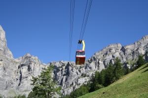 Die Gemmibahn - © Leukerbad Tourismus / Gemmibahn