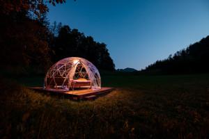 Bubble-Suite auf dem Berghof Montpelon