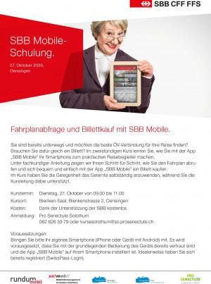 SBB Mobile Kurs