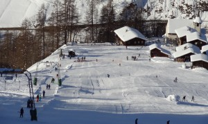 Skilift Wilern Binn - © Landschaftspark Binntal