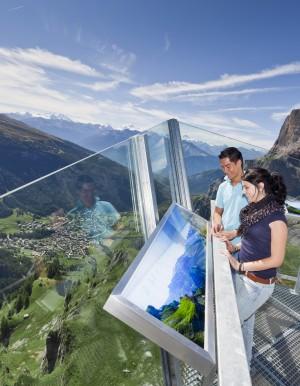 Der Hot Spot Gemmi - © Leukerbad Tourismus