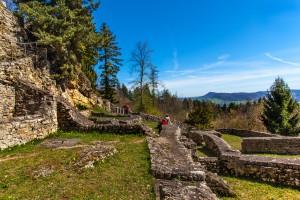 Ruine Alt Tierstein - © Foto Kantonsarchäologie Aargau, Béla Polyvás; Kanton Aargau