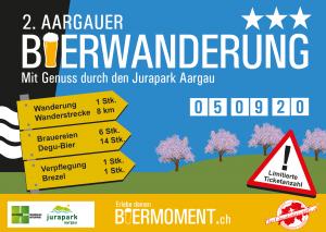 Verschoben: 2. Aargauer Bierwanderung auf 4.9.2021