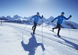 Cross-country skiing Gantrisch