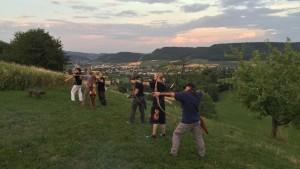 Bogenschiessen auf der Ruine Schenkenberg - © Archery Tradition GmbH