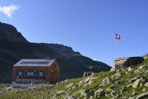 Kesch-Hütte SAC, 2'625 m ü. M.