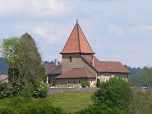 Eglise de Bassins - © Parc Jura vaudois