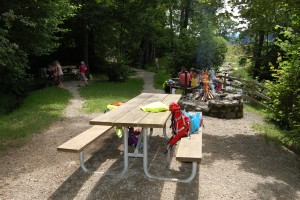 Aire de barbecue Flüehli