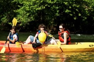Canoe treasure hunt - © République et Canton du Jura / Jura Tourisme