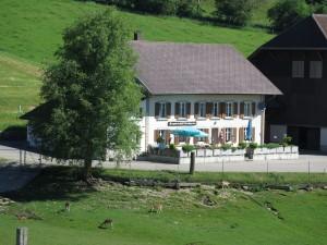 Bergrestaurant Bremgarten - © Naturpark Thal