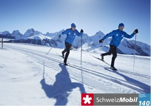 Cross-country skiing Gantrisch - © LZG