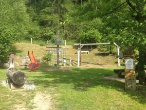 Spielplatz Faderna, Alvaneu