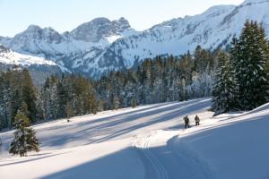 Winterhikingroute