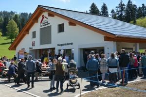 Kiosque du Terroir - © Parc régional Chasseral