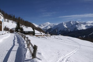 Winter walking at Lü - © Ivo I. Andri