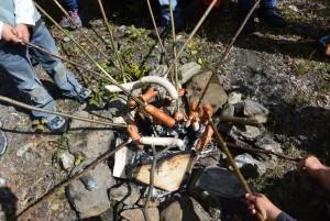 Feuerstelle Fundogn Andeer