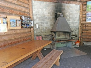 Barbecuing area