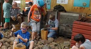 Mit der Familie ins Bergwerk