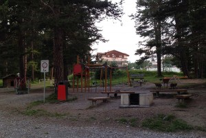 Spielplatz Alvaneu Bad