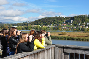 Junior BirdRace - © Petra Zajec, BirdLife-Naturzentrum Klingnauer Stausee