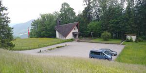 Wohnmobil Stellplatz bei der Kapelle