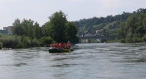 Im Fluss mit Pro Natura - © M. Rutishauser