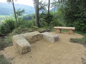 Feuerstelle Grüenholz