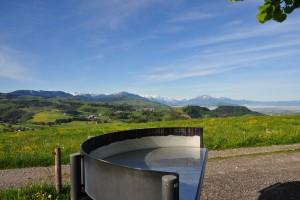 Aussichtspunkt Höchi - © Wildnispark Zürich