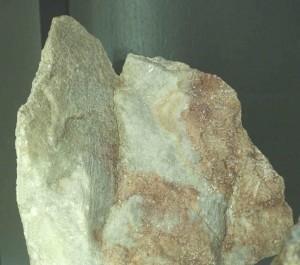 Bergwerk Herznach: Alabaster-Schneiden