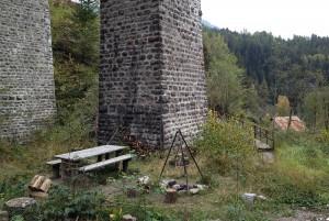 Schmitten, Grillstelle Viadukt
