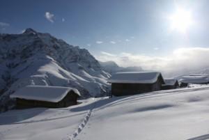 Schneeschuhtrail Camana kurz - © David Coulin