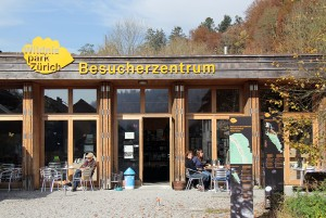 Besucherzentrum in Sihlwald - © Wildnispark Zürich