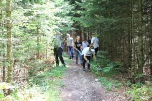 Schulklasseinsatz WEGE - © Parc régional Chasseral