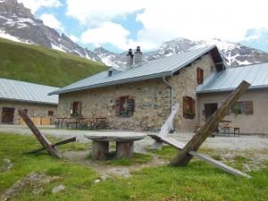 Alp d'Err, Alphütte