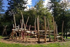 Spielplatz beim Kurhaus Bergün