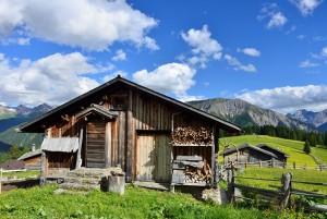 Fünf Alpen Wanderung