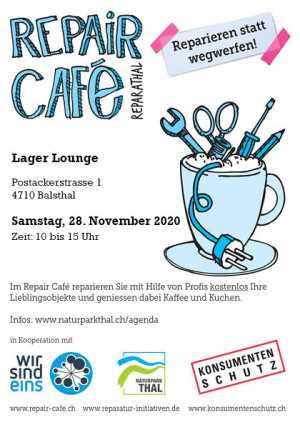 Repair Café in der Lager Lounge