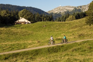 Bike itinerary St-Cergue - © Guillaume Megevand