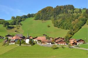 Il villaggio di Diemtigen
