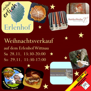 Weihnachtsverkauf Erlenhof