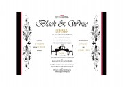 Black & White Dinner - © Hotel Balsthal