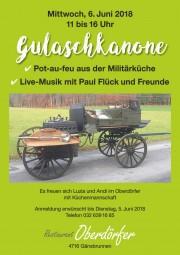 Gulaschkanone - © Restaurant Oberdörfer