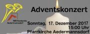 Adventskonzert der Konkordia - © Konkordia Aedermannsdorf
