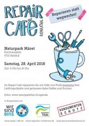 Repair Café am Naturpark Märet - © Naturpark Thal